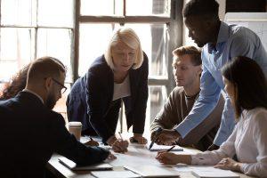 collaborative team image